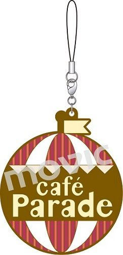 Idol Master SideM logo rubber strap E / Cafe Parade From Japan New by Movic