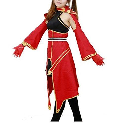 [Halloween Rim SAO Silica Cosplay Costume Dress Outfits for Women XS] (Silica Cosplay Costume)