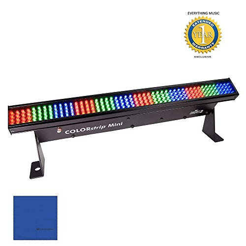 Chauvet DJ COLORstrip Mini LED Linear Wash Light with 1 Year EverythingMusic Extended Warranty Free