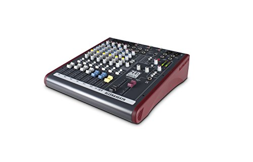 Allen & Heath AH-ZED60-10FX ZED60/10FX Multi-Purpose 6-Channel Mixer with Digital Effects and USB Connectivity