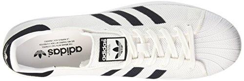 Cblack Ginnastica Bianco da Ftwwht Uomo Superstar Basse adidas Scarpe Ftwwht qvY81wA