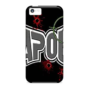 Protector Hard Phone Covers For Iphone 5c (nVX15644bGoZ) Customized Colorful Tapout Skin
