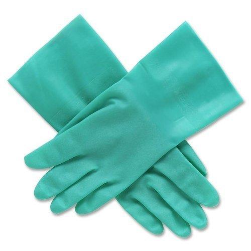 nitriguard ungestütztes Nitril Handschuhe–Grün Nitril nitri-guard Handschuh 15mil 33cm groß von North Sicherheit