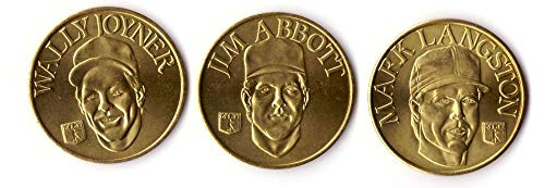 (1992 Sports Stars Collector Coins - CALIFORNIA ANGELS Team set)