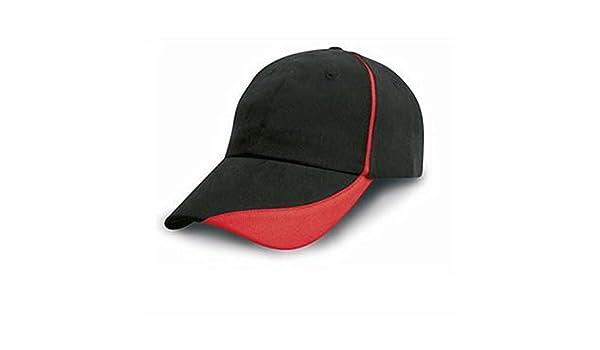 Gorra de algodón peinado pesado con el pico de la concha de peregrino y el ajuste de contraste: Amazon.es: Deportes y aire libre