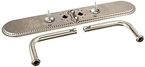 Ciudad de la música metales 15202–71022quemador de acero inoxidable de repuesto para Select Charmglow y Sunbeam modelos de parrilla de Gas