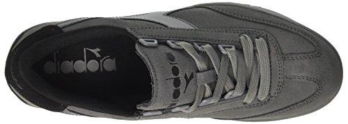 Steel Original Collo Steel Grey Sneaker Grigio Diadora Uomo Grey Black Basso a B 5WwIzxqpP