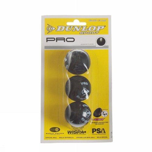 Dunlop D Sb Pro 3bbl 700069 Homme Petites Balles De Squash Fitness