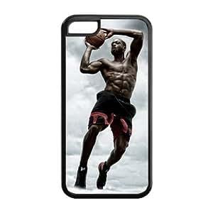 Miami Heat Dwyane Wade Image Design iPhone 5C TPU Case-by Allthingsbasketball