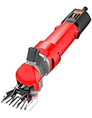 1000W High Power Electric Sheep Shears, Portable Sheep Clippers with 6 Speed, Heavy Duty Farm Livestock Haircut Horse Clippers