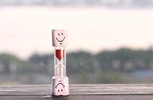 Doyeemei Kids Toothbrush Timer ~ 2 Minute Smiley Sand Timer for Brushing Children's Teeth