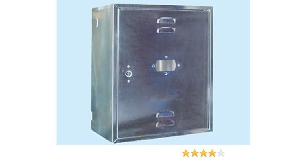 Armario para contadores de gas, 70 cm x 40 x 25 h p.: Amazon.es: Bricolaje y herramientas