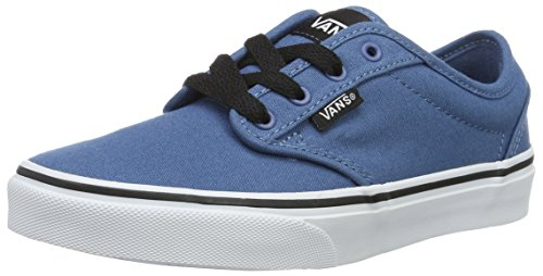 Vans Sneakers Canvas Yt Blue Low Top Atwood Boys' vvqZr