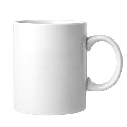 Amazon com: White Ceramic Sublimation Blank 11 oz Coffee Mug