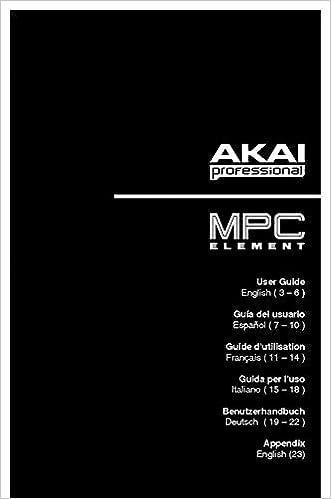 Akai MPC-ELEMENT Owners Instruction Manual Reprint: Amazon