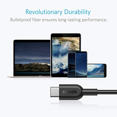 Anker-Powerline-II-USB-C-to-C-20-Cable-6ft-Probably-The-Worlds-Most-Durable-Cable-USB-IF-Certified-for-Samsung-Galaxy-Note-8-S8-S8-S9-S10-Huawei-Matebook-MacBook-iPad-Pro-2018-and-More