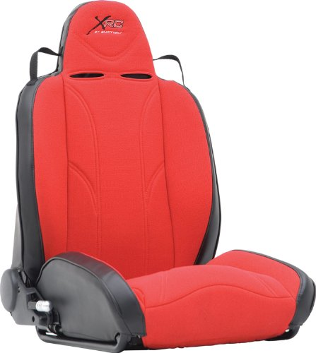 (Smittybilt 750130 XRC Red and Black Passenger Seat)