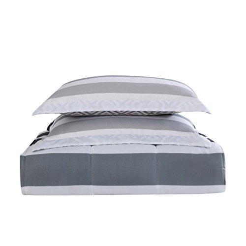 Style 212 Comforter Mini Set, Full/Queen, Newport Stripe