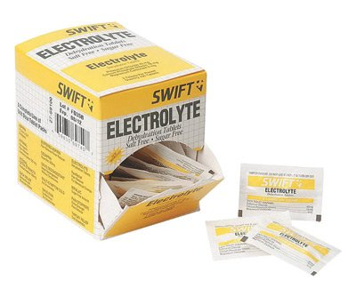 North By Honeywell Electrolyte Dehydration Relief Tablets (2 Per Envelope, 125 Envelopes Per Box)