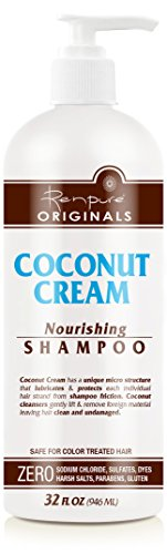 Renpure Coconut Cream Nourishing Shampoo, 32 Ounce