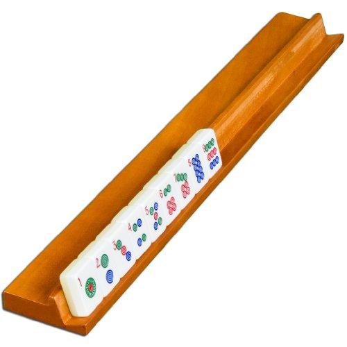 18 Inch Classic Wooden Mahjong Racks, Set of 4