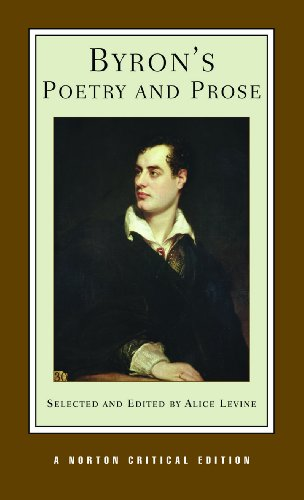 Byron's Poetry and Prose (Norton Critical Edition)