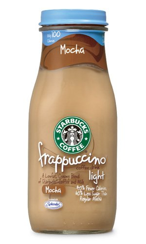 Starbucks Coffee Frappuccino Coffee Drink, Mocha Lite   9.5 Oz (pack Of 12) Photo Gallery