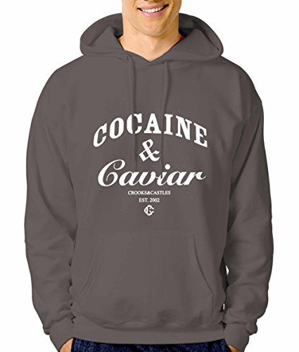 (Cocaine and caviar 2 2XL CHARCOAL)