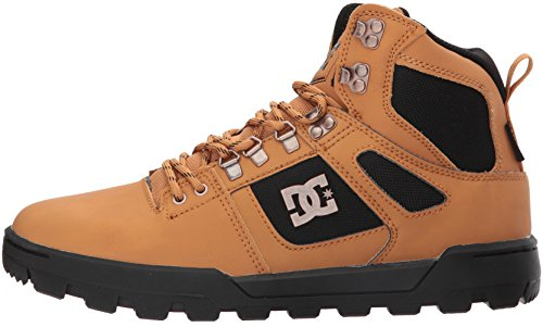 DC Men's Spartan High WR Boot, Wheat/Dark Chocolate, 12 D D US