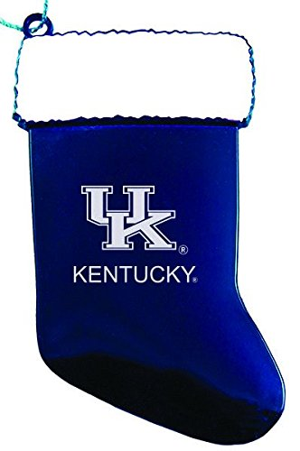 University of Kentucky - Chirstmas Holiday Stocking Ornament - Blue