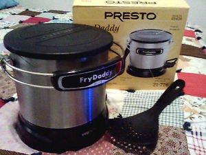 Amazon Com Presto Frydaddy Elite Electric Deep Fryer 4