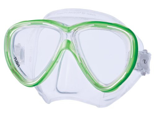 Tusa Freedom One Mask - Clear/Siesta Green by Tusa