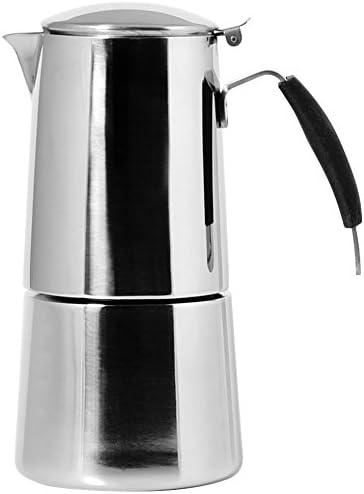 Ilsa Omnia Cafetera Espresso, con Fondo de Inducción, Acero Inoxidable, Plata, para 2 Tazas: Amazon.es: Hogar