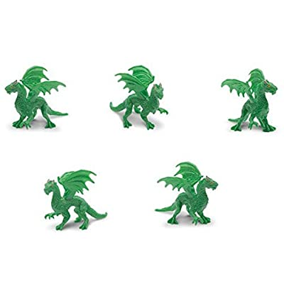 Safari Good Luck Minis - Forest Dragon (Set of 5): Toys & Games