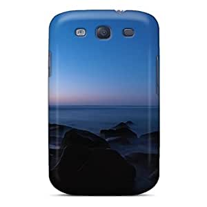 Hot TliXmam532tJxZG Case Cover Protector For Galaxy S3- Seascape Sunset