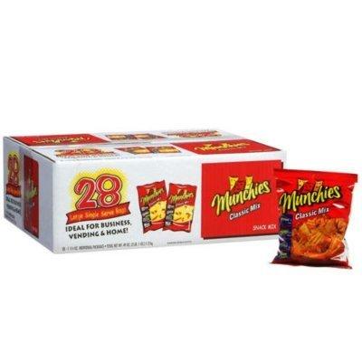 Buy snacks for munchies