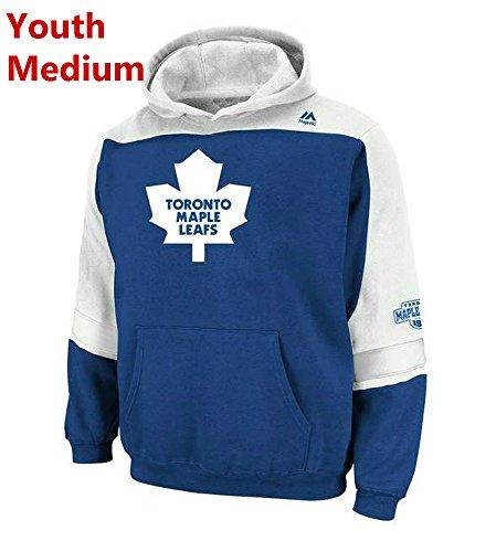 - Majestic Toronto Maple Leafs Youth Medium Hooded NHL Lil Ice Classic Sweatshirt