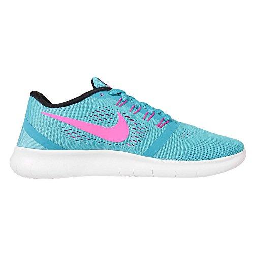 Nike Donne Libere Rn Scarpe Da Corsa (5 B (m) Noi, Blu)