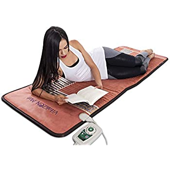 "Amazon com: 2019 VitaliZEN Infrared Heating Mat - 74"" x 28"