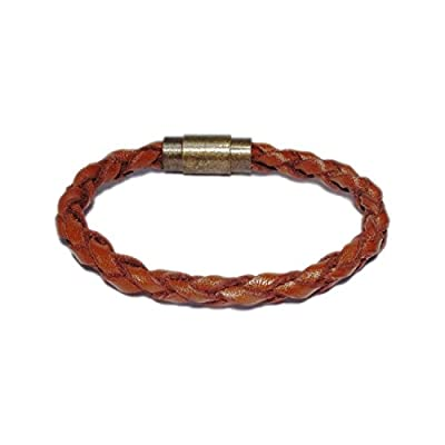 AUTHENTIC HANDMADE Leather Bracelet, Men Women Wristbands Braided Bangle Craft Multi [SKU003129]