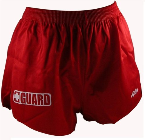 Dolfin Guard Cover-up Short Womens Size: Large Red Guard