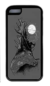 Soft TPU iphone 5C case with Abstract Painting A Long December Custom TPU Back Case for iphone 5C