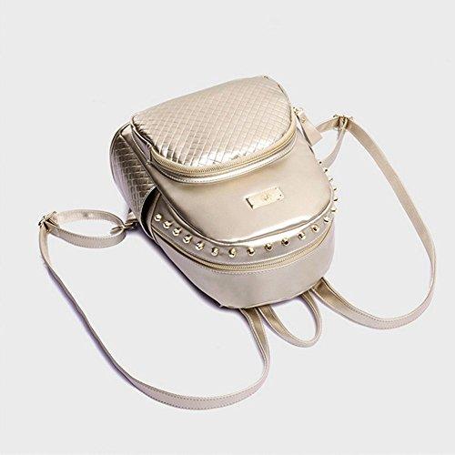 Eysee - Bolso mochila  para mujer dorado dorado 28cm*31cm*15cm negro