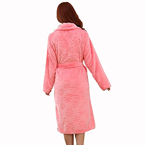 Cotone Camicia Notte Flanella Da Pigiama Di XGMSD Caldo Red Ms YxZRPqH
