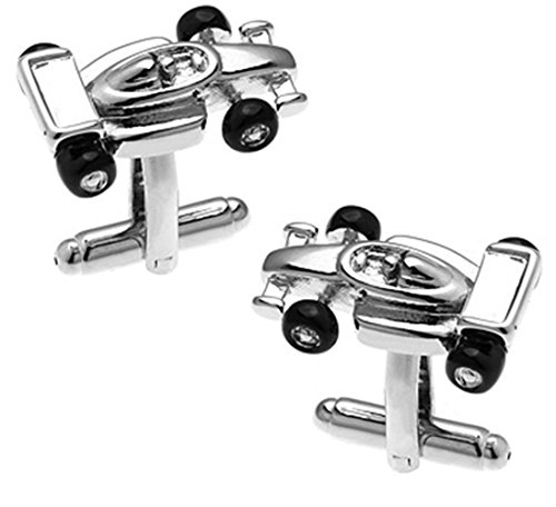 Cufflinks Direct F1 Indy Motor Racing Car Cufflinks Gift Cuff Links (Cufflinks with Gift - Motor Indy