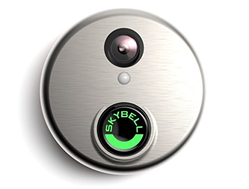 SkyBell HD Silver WiFi Video Doorbell by SkyBell