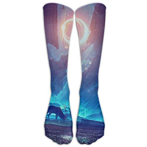 Costume Drama Youtube (Deer Sport Tube Compression Soccer Socks For Men And Women - Running & Fitness - Best Medical, Nursing, Travel & Flight Socks)
