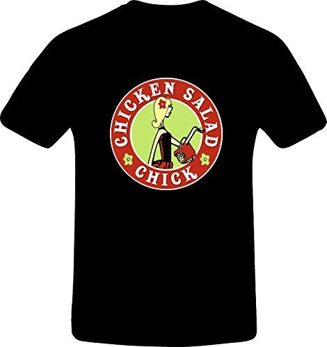 Chicken Salad, Chick, Custom Tshirt (M, Black)