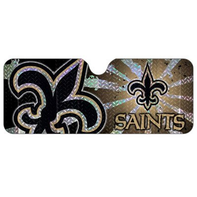 (NFL Auto Sun Shade NFL Team: New Orleans Saints)