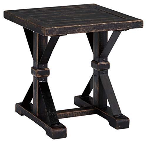 Ashley Furniture Signature Design - Beckendorf Casual Square End Table - Black